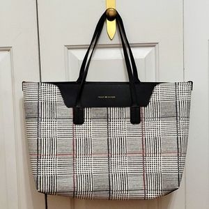 Tommy Hilfiger Faux Leather Tote Bag